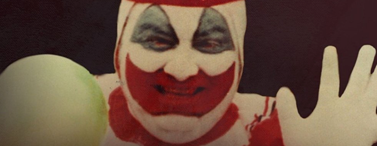 la tête du Clown Pogo son maquillage
