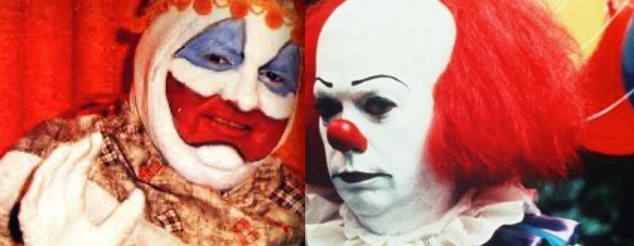 Pogo le clown et le clown pennywise
