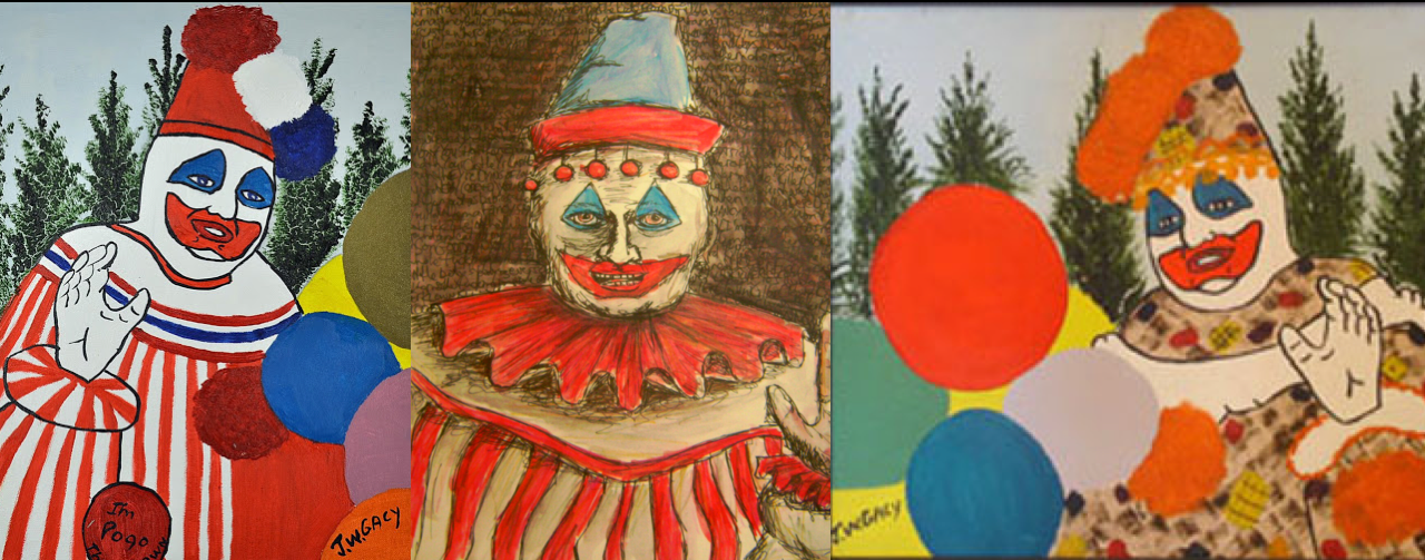 Auto-portrait de Pogo le Clown