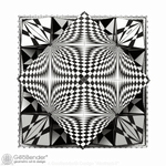 "2 Box - ""Abstract 2"" - GeoBender® Geometric Art & Design"