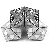 "2 Box - ""Abstract1"" - GeoBender® Geometric Art & Design"