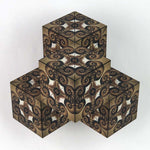 "4 Box -""Nautilus"" - GeoBender® Geometric Art & Design"