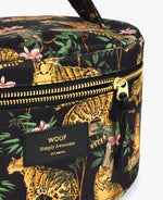 Charger l'image dans la galerie, Trousse beauté XL BLACK LAZY JUNGLE - WOUF -