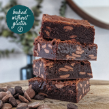 Baked Without Gluten Double Chocolate Brownie