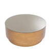 Coffee Table Riva antique brass finish