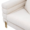 Chair York bouclé cream