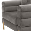 Chair York savona grey velvet
