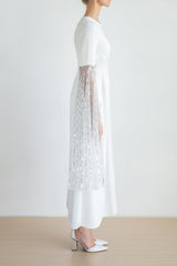 Moon rays embellished dress