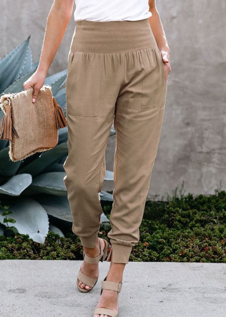 Love & Leisure Joggers (Khaki)