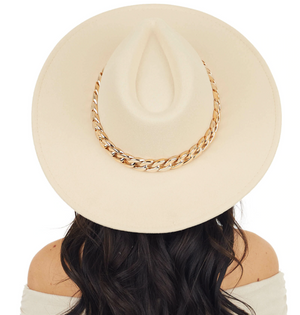 Colorado Spring Wide Brim Hat - Beige