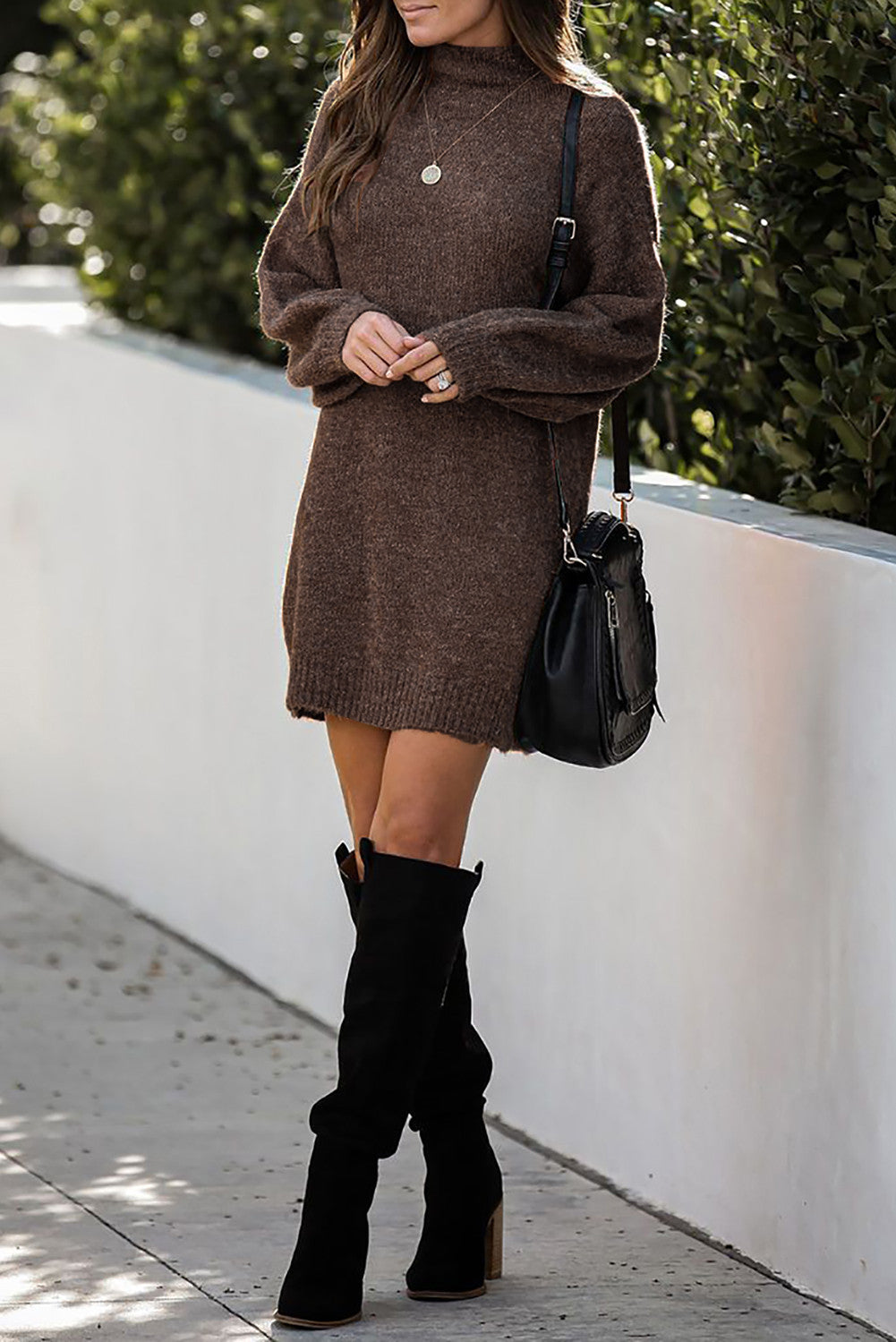 Cocoa and Cozy Sweater Dress