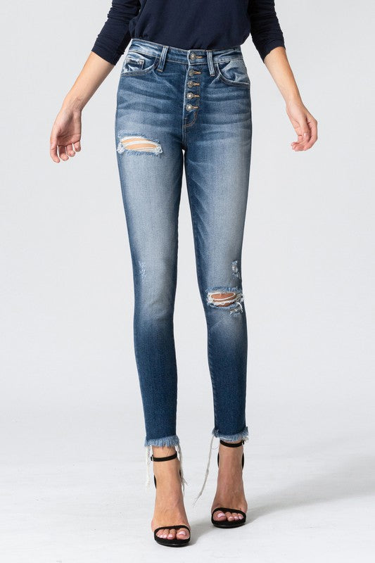 Go Time Vervet by Flying Monkey Skinny Jeans