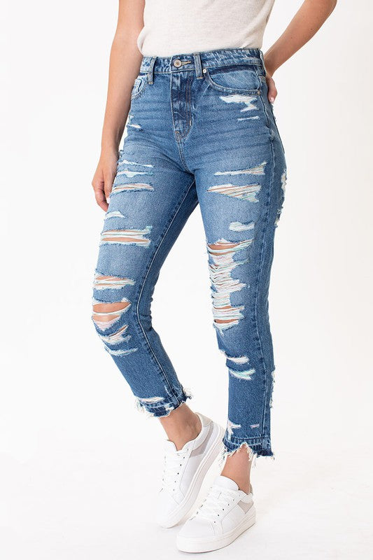 My Colorful Life KanCan High Rise Jeans