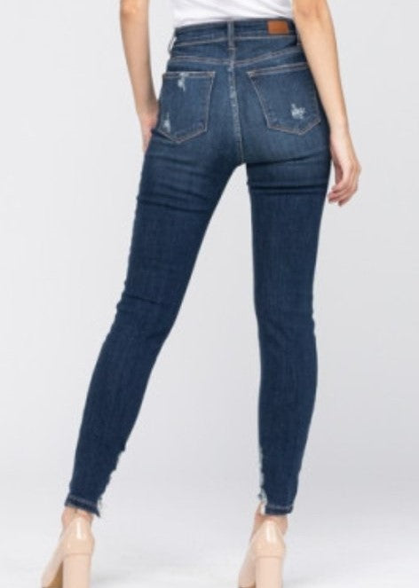 Rome Distressed Skinny Jeans by Judy Blue