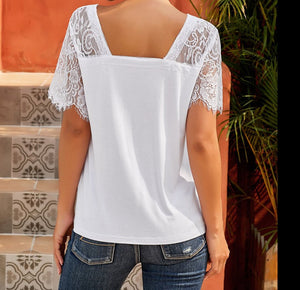 Sweet For You Top (White)