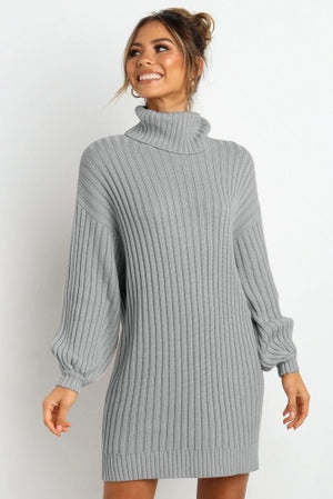 Makes Me Smile Sweater Dress