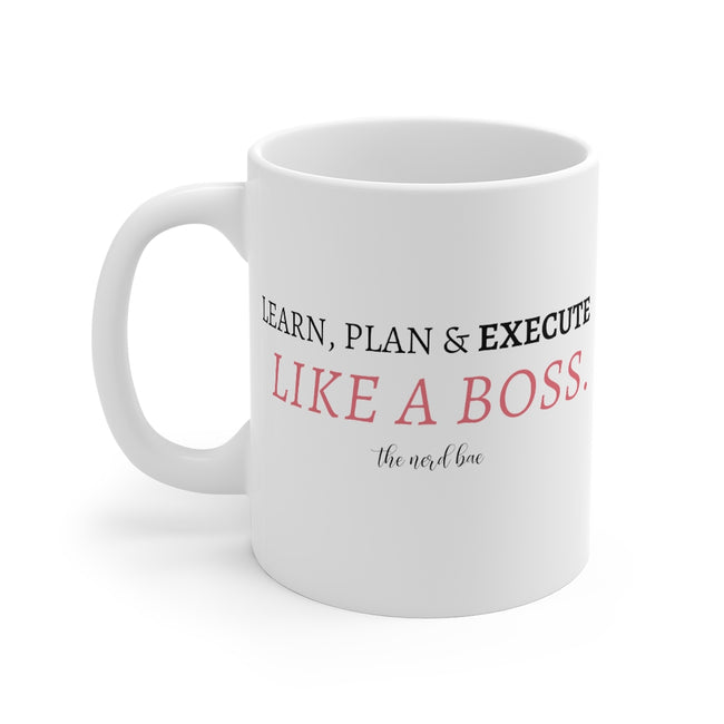 11oz mug - boss lady