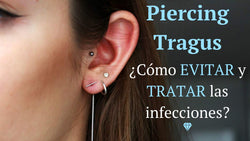 piercing tragus infectado