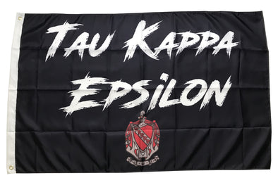 Tau Kappa Epsilon Fighter Flag | Black and White
