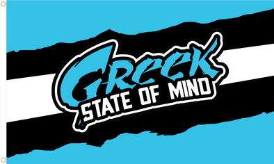 Greek State of Mind Flag