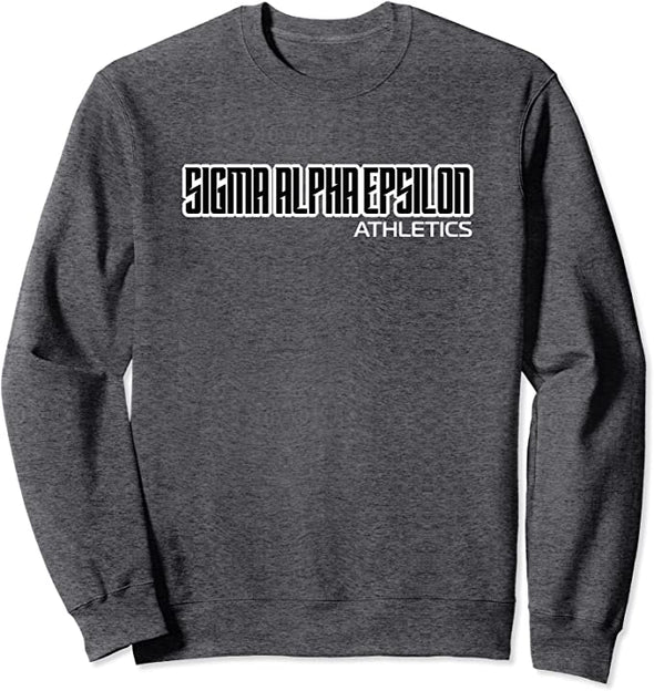Sigma Alpha Epsilon Graphic Crewneck | Clean Athletics