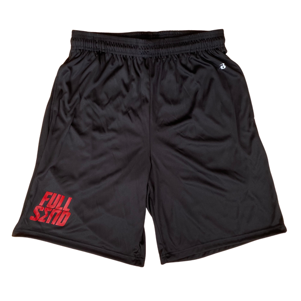 Sigma Pi Athletic Shorts | Full Send | Badger Brand