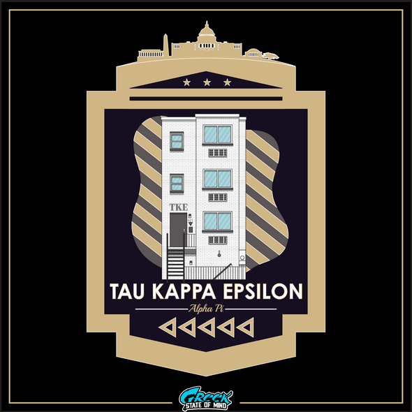 Tau Kappa Epsilon Graphic Long Sleeve | GWU Chapter House