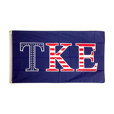 Tau Kappa Epsilon USA Flag