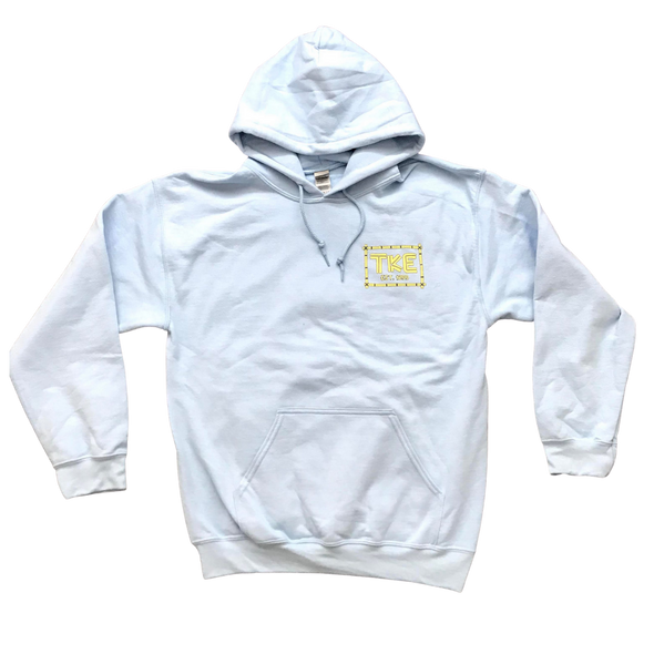 Tau Kappa Epsilon Graphic Hoodie | Light Blue | TEKE island
