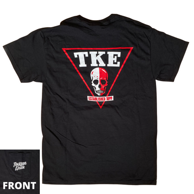 Tau Kappa Epsilon Graphic T-Shirt | TKE Emblem Pocket