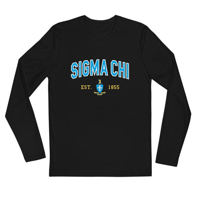 Sigma Chi Graphic Long Sleeve | Sigma Chi Classic