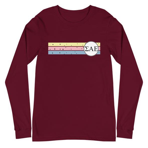 Sigma Alpha Epsilon Graphic Long Sleeve | Taffy Sky