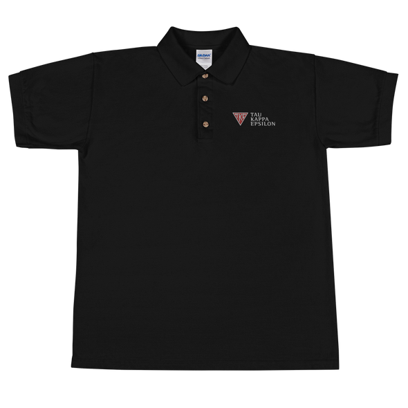 Tau Kappa Epsilon Embroidered Polo | TKE Classic