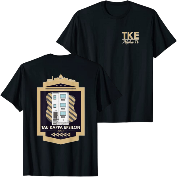 Tau Kappa Epsilon Graphic T-shirt | GWU Chapter House