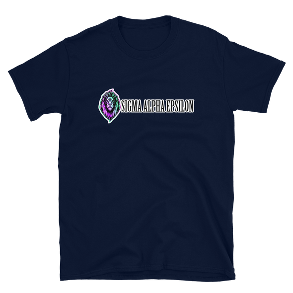 Sigma Alpha Epsilon Graphic T-Shirt | Eternal Lion