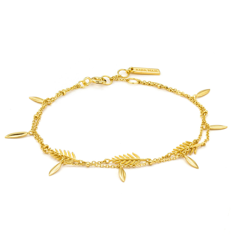 Load image into Gallery viewer, Gold Tropic Double Bracelet