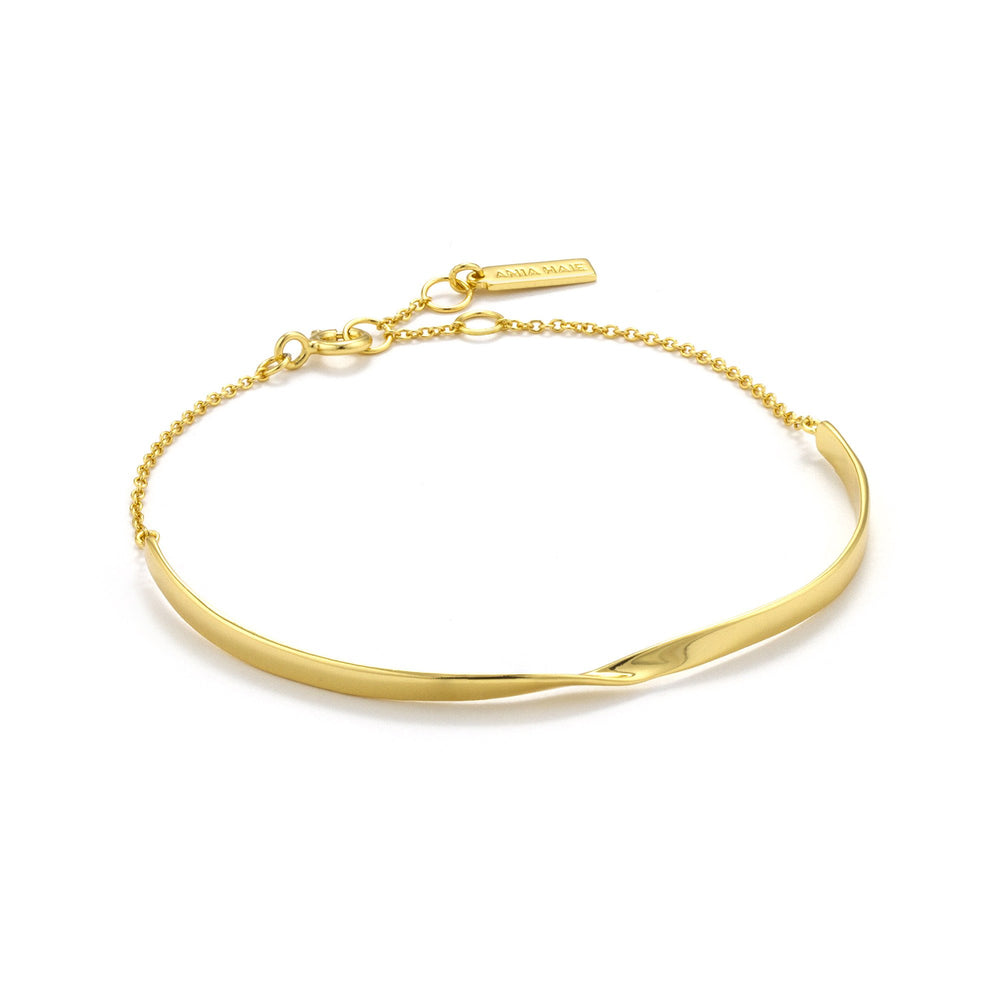 Load image into Gallery viewer, Gold Twist Bracelet