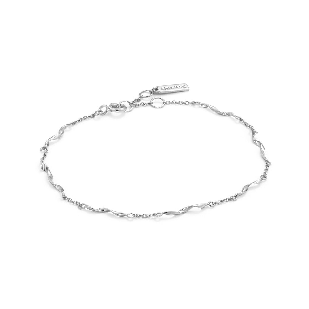 Load image into Gallery viewer, Silver Helix Bracelet