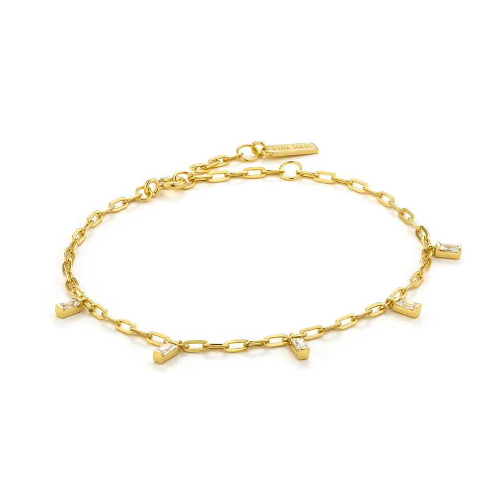 Load image into Gallery viewer, Gold Glow Drop Bracelet