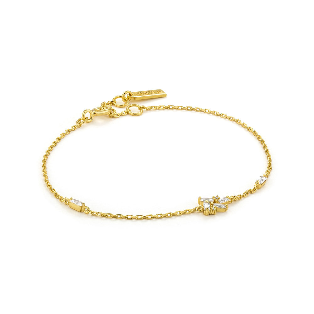 Load image into Gallery viewer, Gold Cluster Bracelet