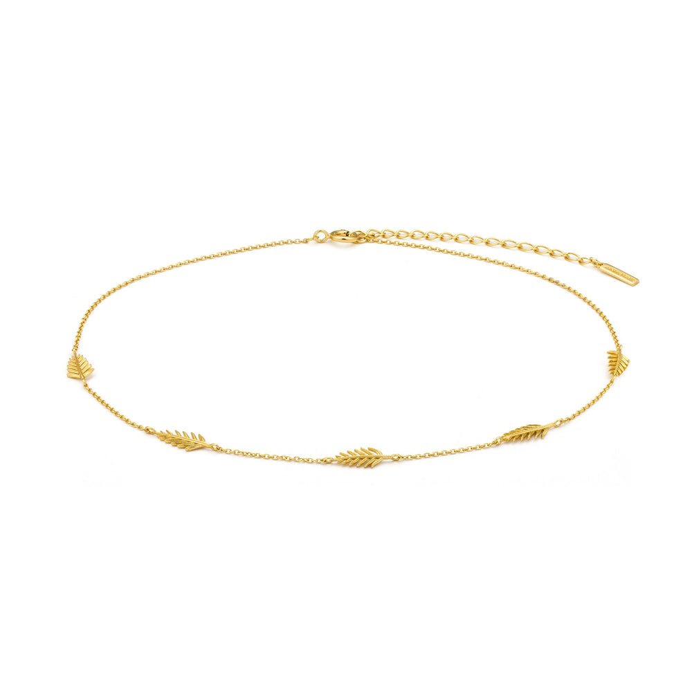 Load image into Gallery viewer, Gold Palm Choker