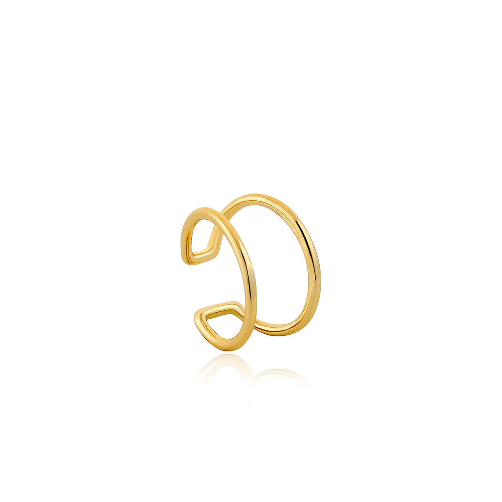 Load image into Gallery viewer, Gold Modern Ear Cuff