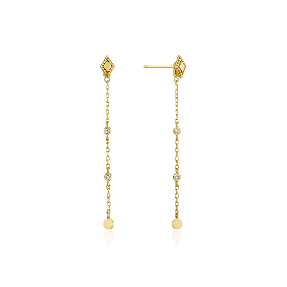 Gold Bohemia Drop Earrings