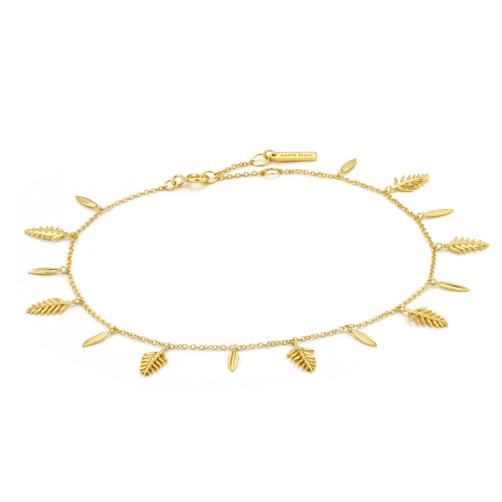 Gold Tropic Anklet
