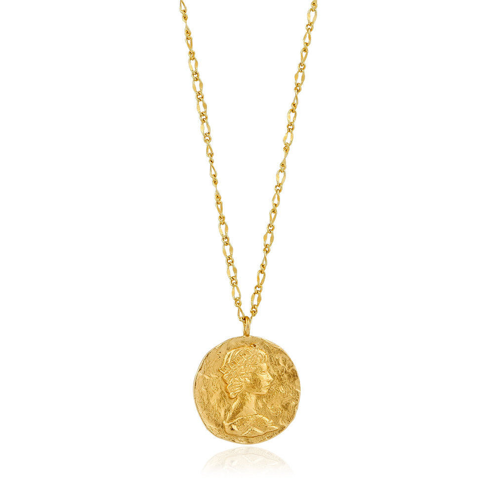 Gold Roman Empress Necklace