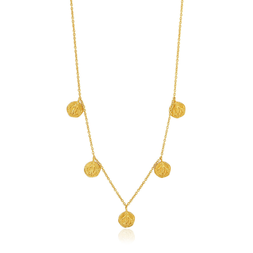 Gold Deus Necklace