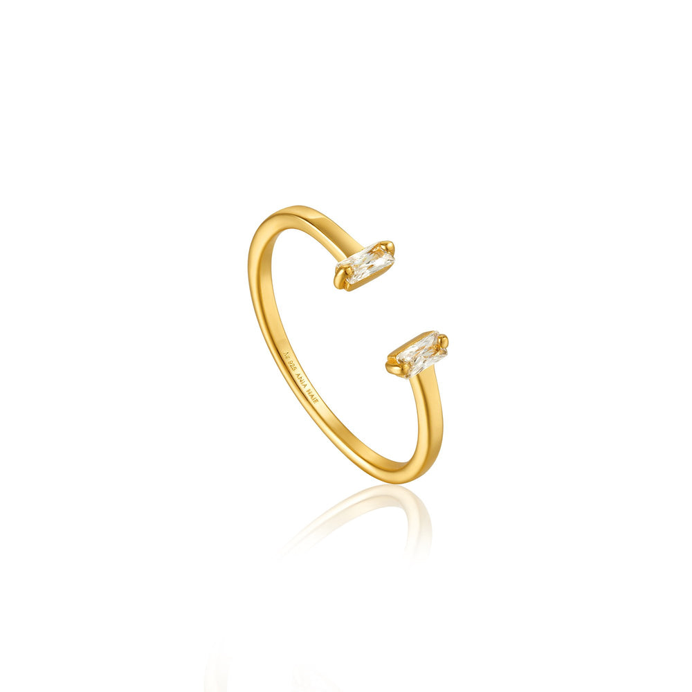 Gold Glow Adjustable Ring