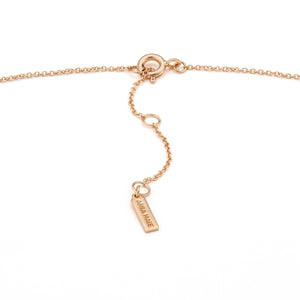 Rose Gold Dotted Double Necklace