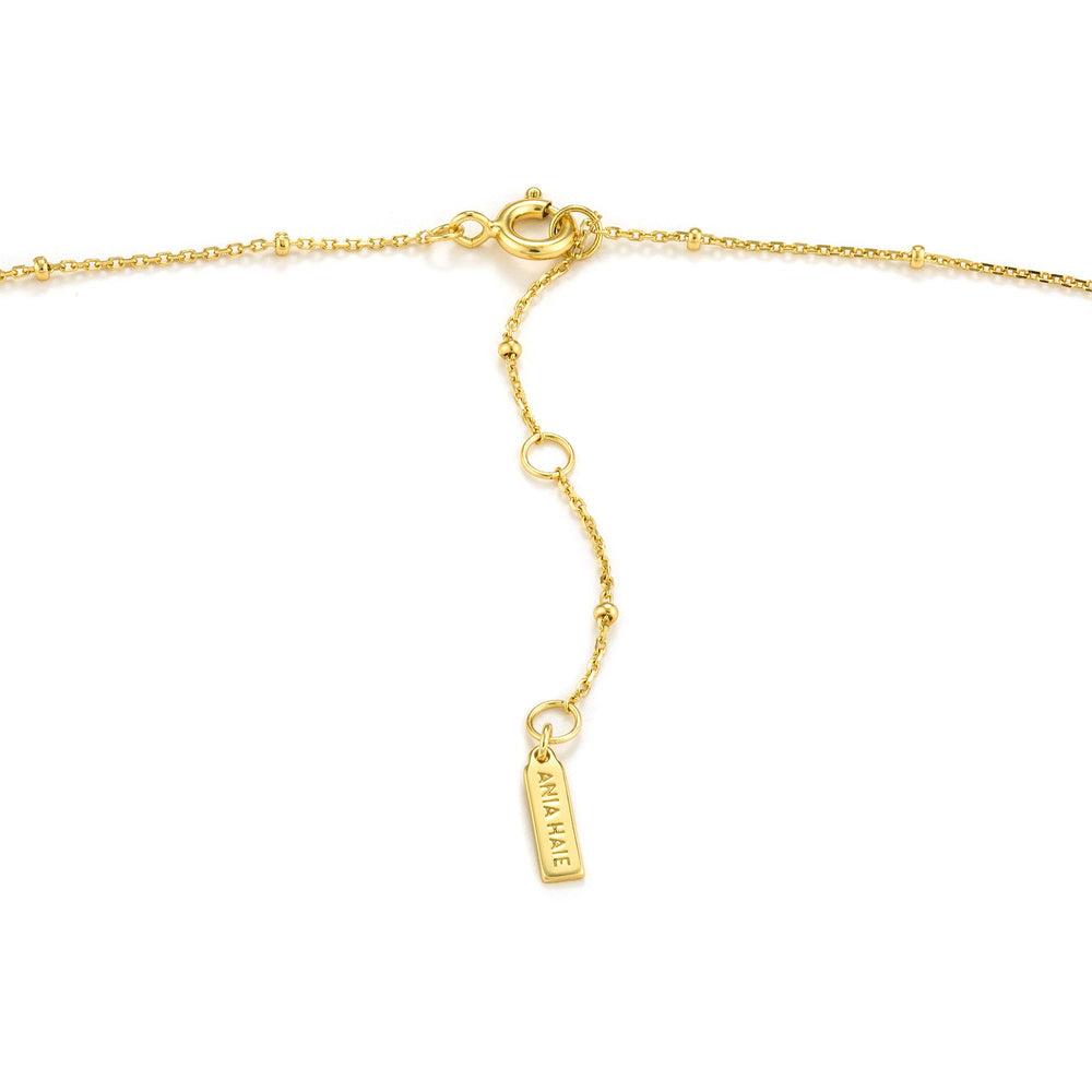 Gold Winged Goddess Necklace