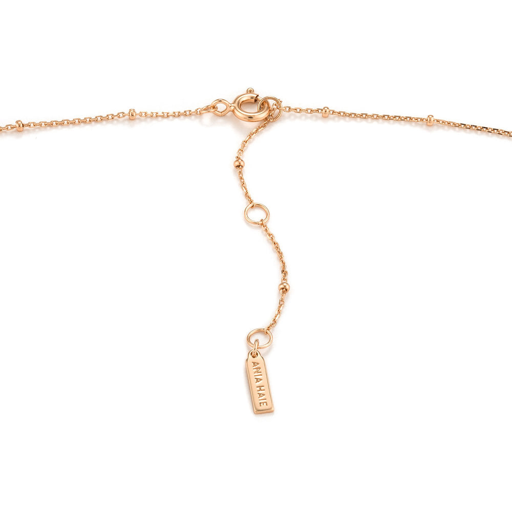 Load image into Gallery viewer, Rose Gold Deus Y Necklace
